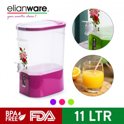 Elianware Rose Series 11 Ltr Tall Party No Leak Water Dispenser with Stand