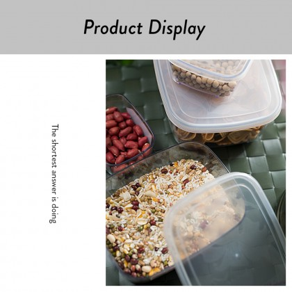 Elianware 145ml Transparent Airtight Food Keeper