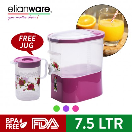 Elianware Rose Series 7.5 Ltr Water Dispenser [FREE 2.2 Ltr Water Jug]