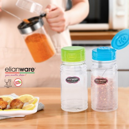 Elianware (BUY 1 FREE 1) 100ml High Quality Light Durable Container Condiments Pepper Bottle